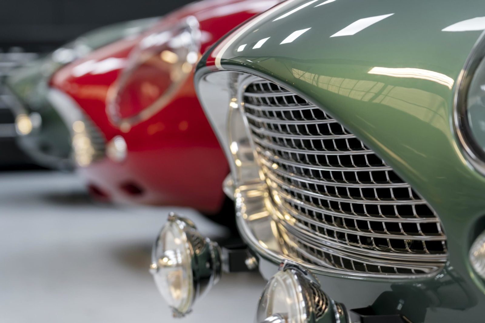 FIRST DB4 GT ZAGATO CONTINUATION OWNERS TAKE DELIVERY OF THEIR SPORTS CARS