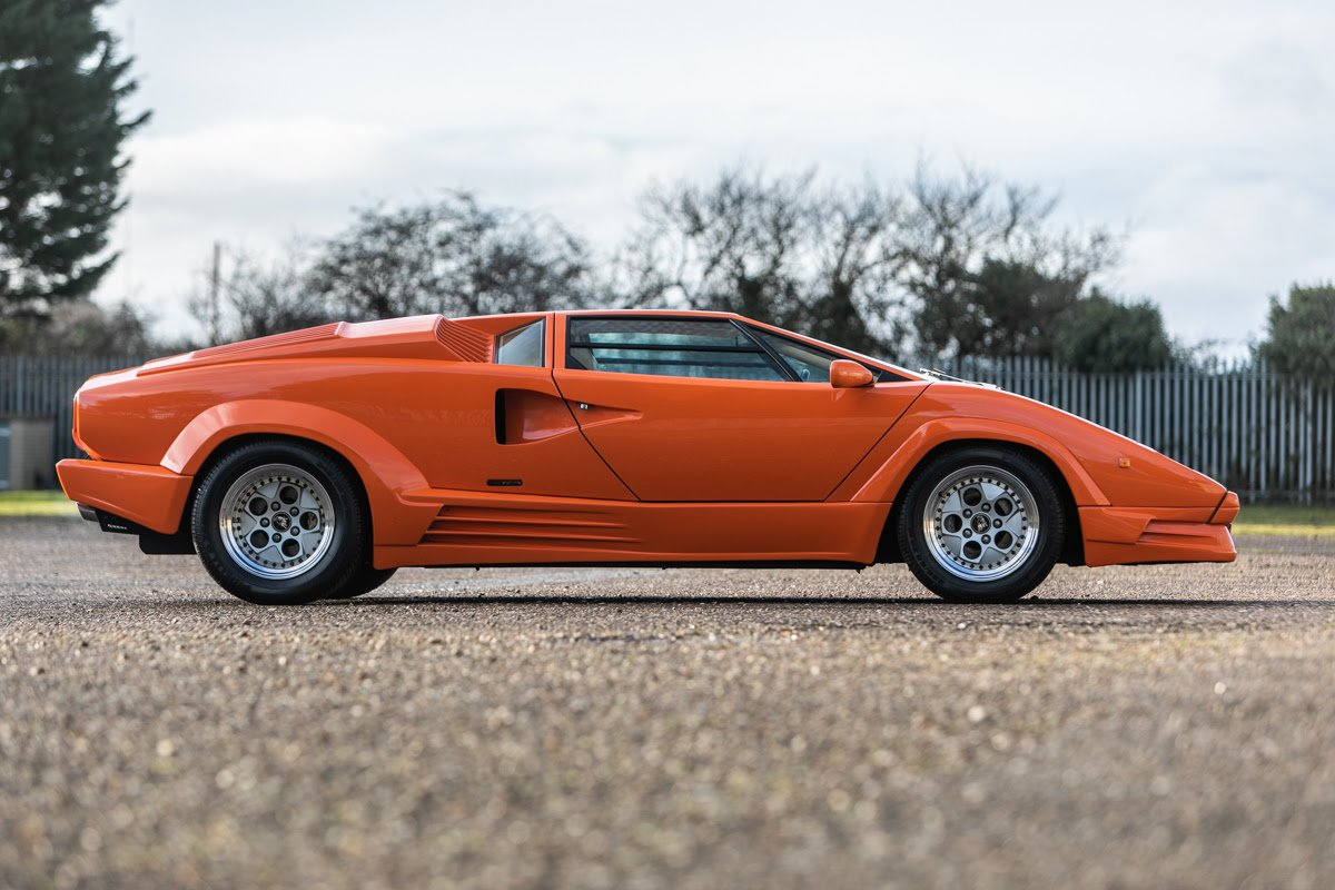 Silverstone Auctions Lamborghini Countach 1980's Supercare in their next auction..