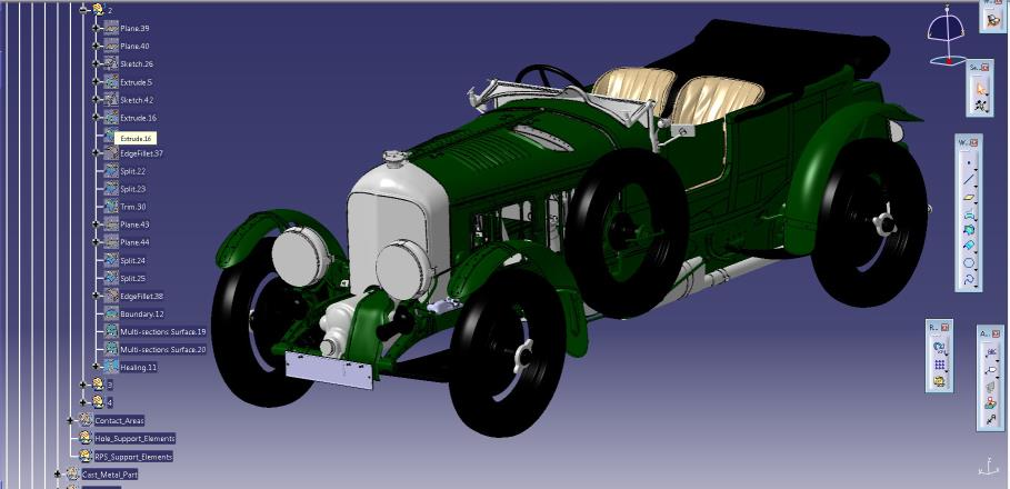 BENTLEY'S BIRKIN BLOWER GOES DIGITAL..  The original 1920 model you can buy in 2020 as a new build